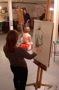Life drawing workshop - felicity bower
