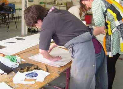 Printmaking By Hand Weekend – In Colour!