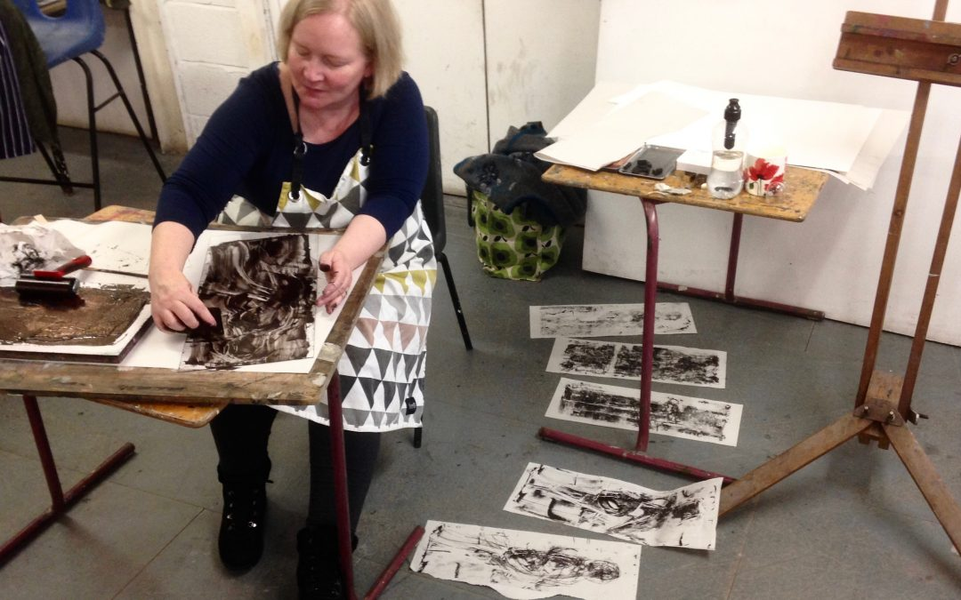 Life Drawing and Monoprinting Workshop