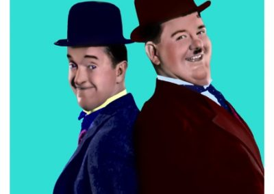 Jason Dorley-Brown.Laurel and Hardy