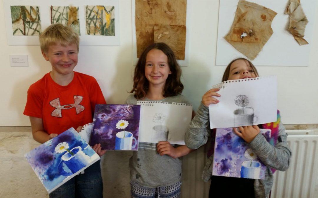 Children's Half Term Art Class, Ages 7-11