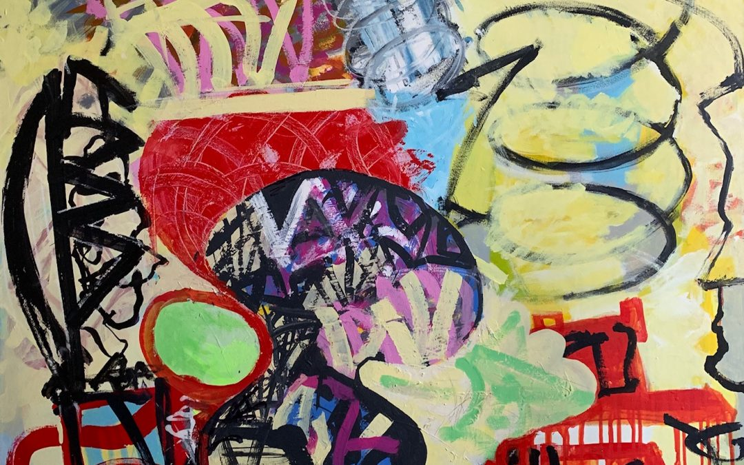 The Shape of Things to Come:  Recent Paintings by Leonard Green.