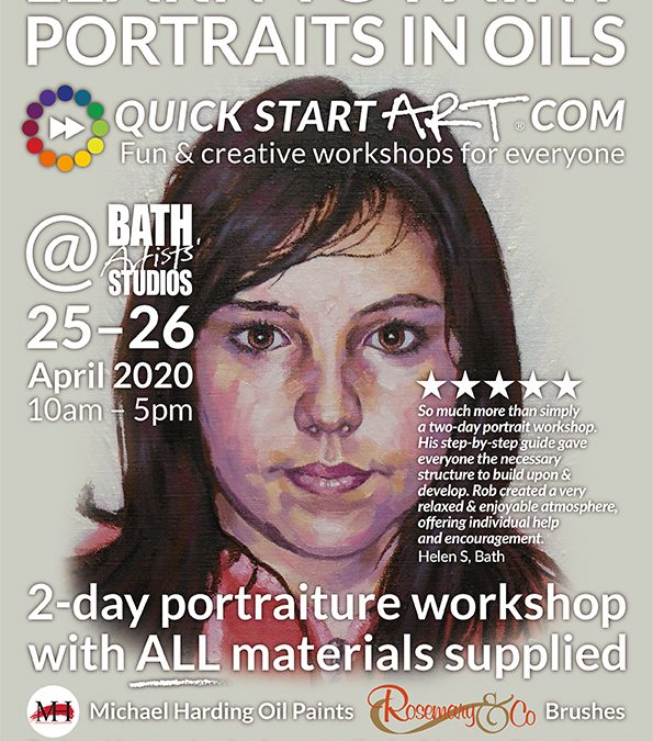 Learn to Paint Portraits in Oils