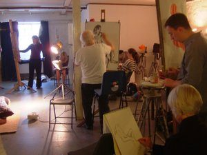 Felicities's Life Drawing Class