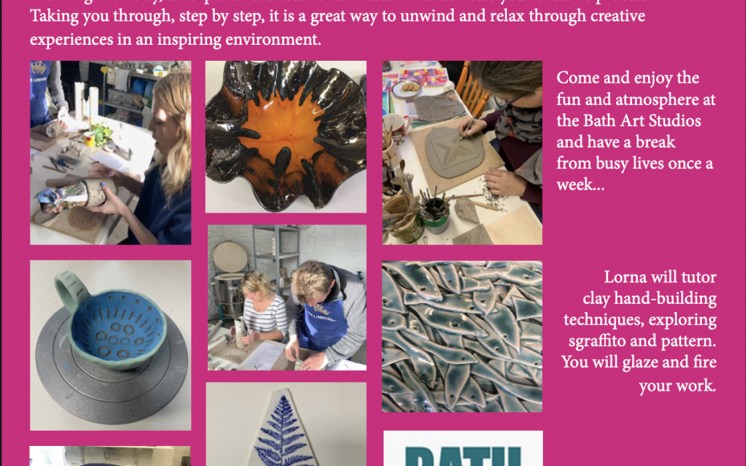 Pause For Creativity With Clay